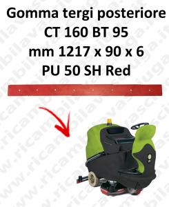 CT 160 BT 95 BAVETTE ARRIERE pour autolaveuses IPC