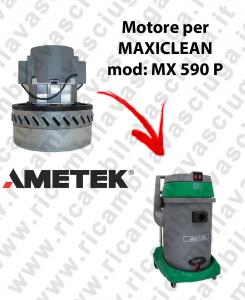 MX 590 P MOTEUR AMETEK aspiration pour aspirateur et aspirateur à eau MAXICLEAN
