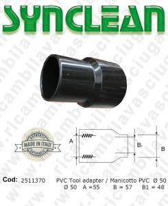 Schlauch für Rohr Aspiration PVC ø 50 gültig für Staubsauger Ghibli AS600 - Maxiclean MX600