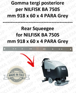 BA 750S Hinten sauglippen für scheuersaugmaschinen NILFISK