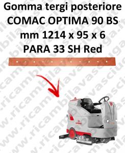 OPTIMA 90BS BAVETTE ARRIERE pour autolaveuses COMAC