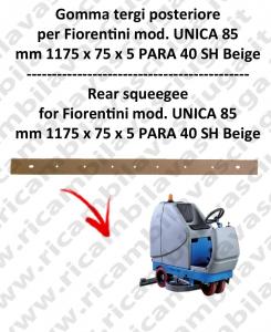 UNICA 85 Hinten sauglippen für scheuersaugmaschinen FIORENTINI