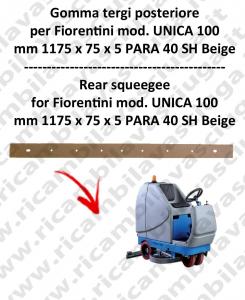 UNICA 100 Hinten sauglippen für scheuersaugmaschinen FIORENTINI