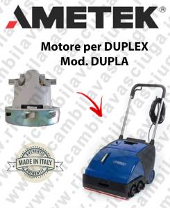 DUPLA Saugmotor Ametek für scheuersaugmaschinen DUPLEX
