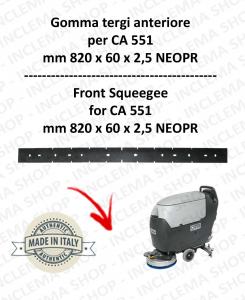 CA 551 Vorne sauglippen für scheuersaugmaschinen NILFISK