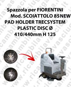 PAD HOLDER TRECSYSTEM  pour autolaveuses FIORENTINI Reference SCOIATTOLO 85 NEW