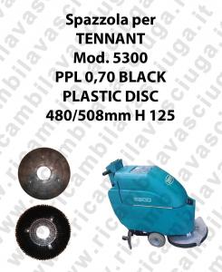 BROSSE A LAVER PPL 0,70 BLACK pour autolaveuses TENNANT Reference 5300