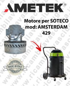 AMSTERDAM 429 MOTEUR ASPIRATION AMETEK  pour aspirateur SOTECO