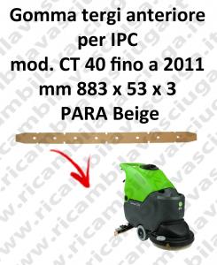 CT 40 -  jusqu'à 2011 BAVETTE AVANT pour autolaveuses et autolaveuses IPC