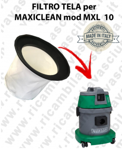 FILTRE TOILE pour aspirateur MAXICLEAN Reference MXL10 - BY SYNCLEAN