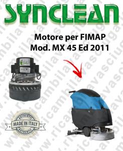 MX 45 Ed. 2011 moteur aspiration SYNCLEAN autolaveuses FIMAP