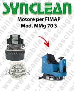 MMG 70 S moteur aspiration SYNCLEAN autolaveuses FIMAP