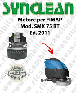 SMX 75 BT Ed. 2011 moteur aspiration LAMB AMETEK autolaveuses FIMAP