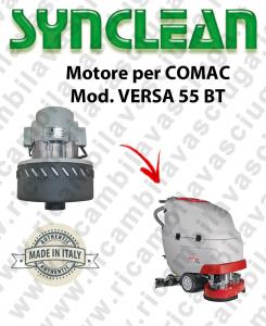 VERSA 55 BT moteur aspiration SYNCLEAN pour autolaveuses COMAC