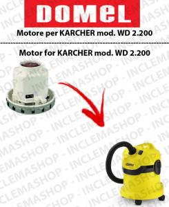 WD 2.200  moteur aspiration DOMEL pour aspirateurs KARCHER