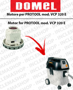 VCP 320 E  moteur aspiration DOMEL pour aspirateurs PROTOOL
