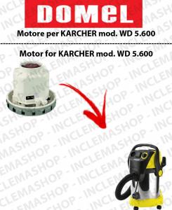 WD 5.800 moteur aspiration DOMEL pour aspirateurs KARCHER