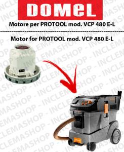 VCP 480 E-L moteur aspiration DOMEL pour aspirateurs PROTOOL