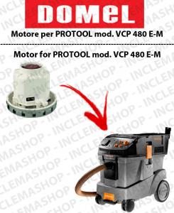 VCP 480 E-M moteur aspiration DOMEL pour aspirateurs PROTOOL