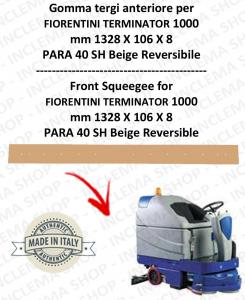 TERMINATOR 1000 Bavette ARRIERE pour autolaveuses  FIORENTINI
