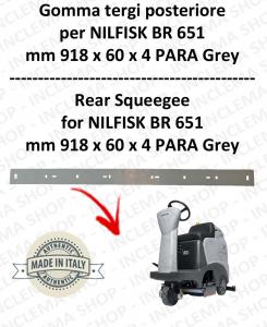 BR 651 Bavette ARRIERE pour autolaveuses  NILFISK