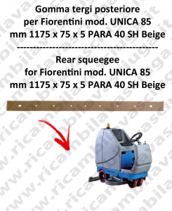 UNICA 85 Bavette ARRIERE pour autolaveuses  FIORENTINI