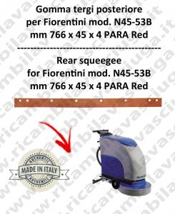 N45-53B Bavette ARRIERE pour autolaveuses  FIORENTINI