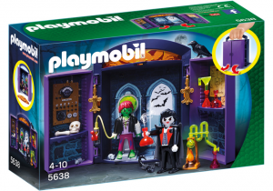 PLAYMOBIL BOX LABORATORIO DEI MOSTRI  5638