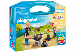 PLAYMOBIL VALIGETTA BARBECUE 5649