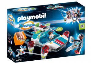 PLAYMOBIL FULGORIX CON AGENTE GENE 9002