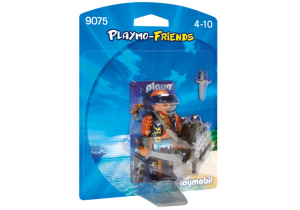 PLAYMOBIL PIRATA 9075