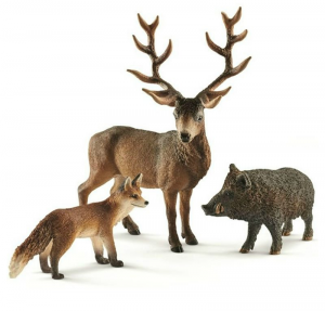 SCHLEICH ANIMALI DEL BOSCO EUROPA 41458