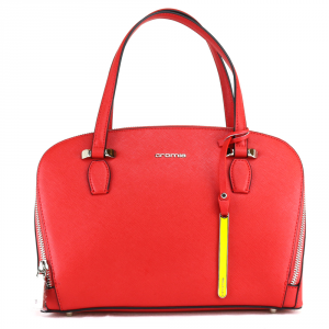 Hand and shoulder bag Cromia PERLA 1403384 ROSSO