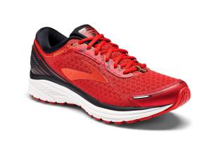 Scarpe Running Brooks ADURO 5 rosso-nero