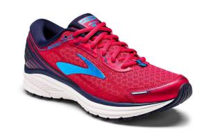 Scarpe Running Brooks ADURO 5 W rosso-blu