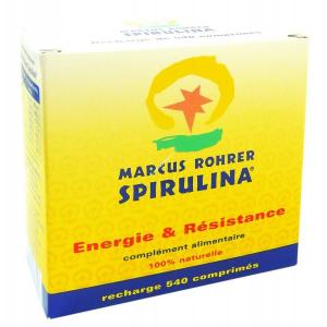 MARCUS ROHRER SPIRULINA RICARICA 540 COMPRESSE
