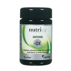 NUTRIVA ANTIOXID ANTIOSSIDANTE INTEGRATORE 30 SOFTGEL