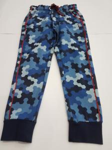 Pantalone mimetico blu