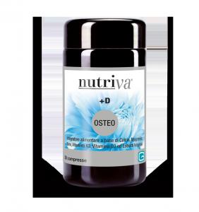 NUTRIVA +D OSTEO INTEGRATORE OSSA 50 COMPRESSE