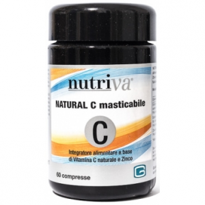 NUTRIVA NATURAL C INTEGRATORE VITAMINA C E ZINCO 60 COMPRESSE