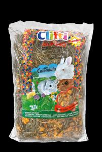 Fieno Alpino Cliffi per Conigli con Calendula 1° qualità Chemi Vit  gr.500