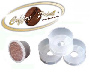 ADATTATORE IN PLASTICA PER CAPSULE MONODOSE SU MACCHINA CAFFE' BIDOSE