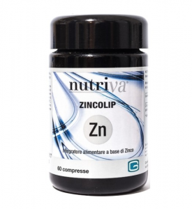 NUTRIVA ZINCOLIP 60 CPR