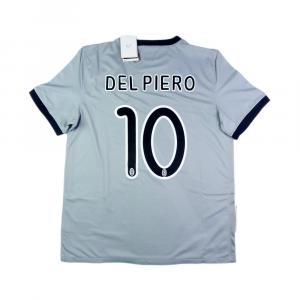 2009-10 JUVENTUS MAGLIA AWAY #10 Del Piero L *Cartellino e Confezione
