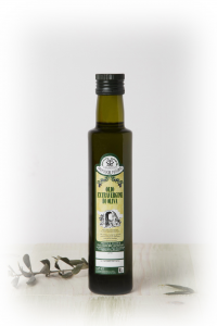 OLIVE EXTRAVERGEN OIL BOTTLE SCREW 0.25 LT.
