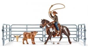 SCHLEICH FARM LIFE COWBOY CON LAZO 41418
