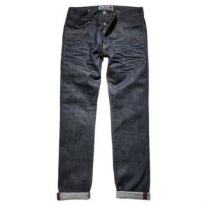 PROMO JEANS CITY Motorcycle Man Jeans - Raw Blue