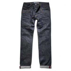 PROMO JEANS CITY Jeans Moto Uomo - Blu Grezzo