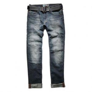 PROMO JEANS LEGEND Motorcycle Man Jeans - Mid Blue