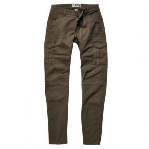PROMO JEANS SANTIAGO Motorcycle Cargo Man Pants - Brown